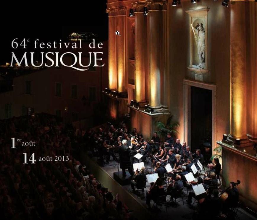 Festival de Musique de Menton 2013