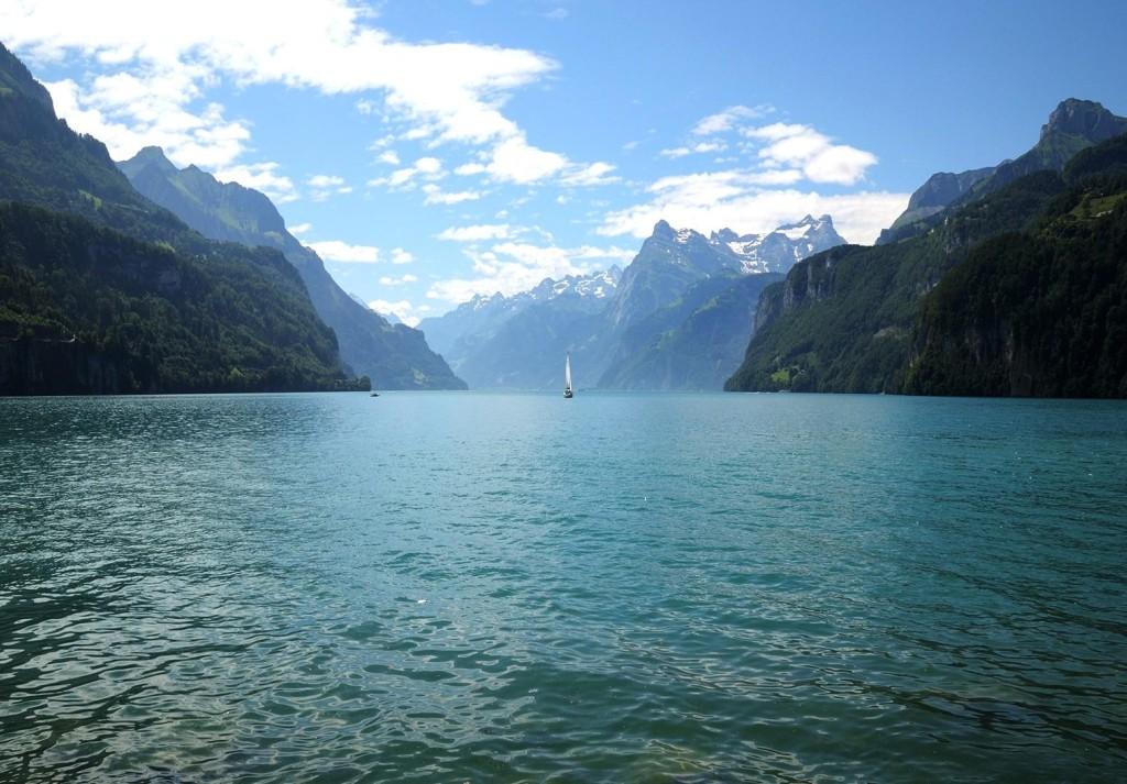 Lac suisse des Quatre-Cantons