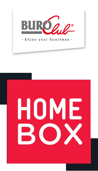 Logos de BURO Club et de HOMEBOX