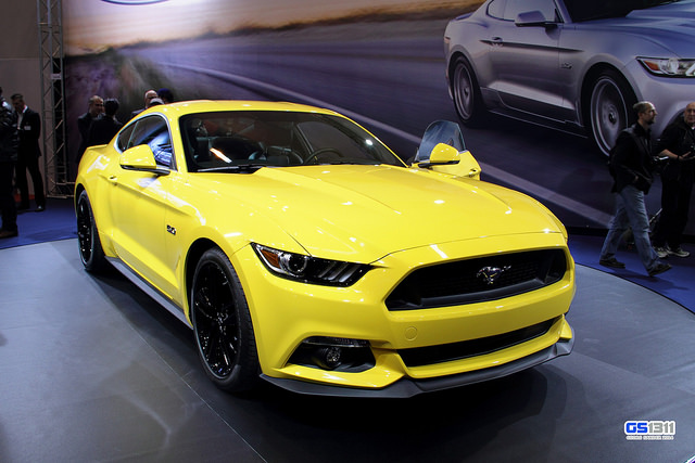 Ford Mustang VI 2015