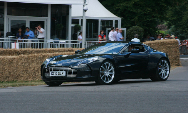 Pohoto d'une Aston Martin One-77