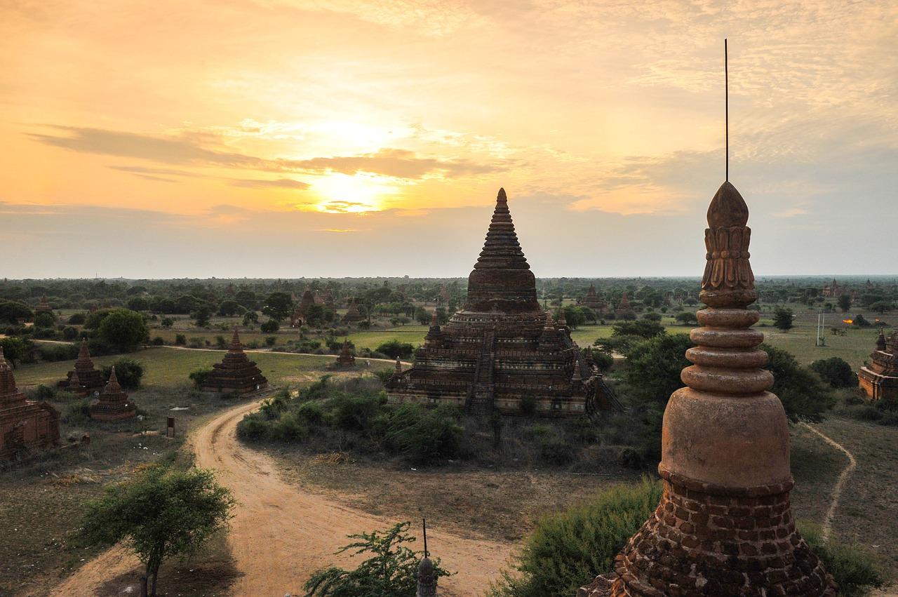 Temple de Birmanie.