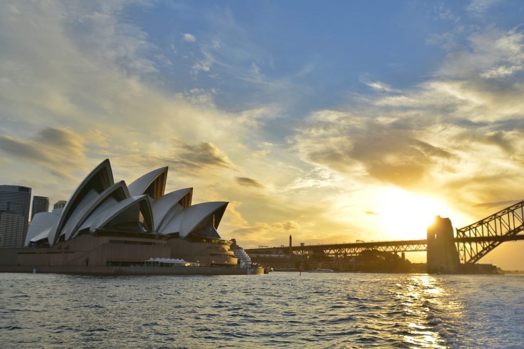 Vue d'Australie