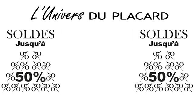 Les soldes d'hiver sur l'univers du Placard.