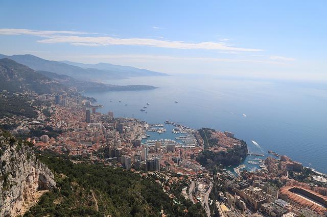 Vue sur Monaco.
