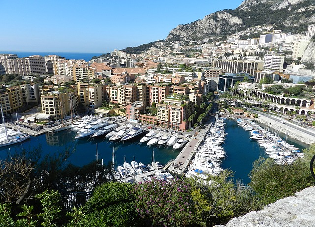 Le port Hercule à Monaco.