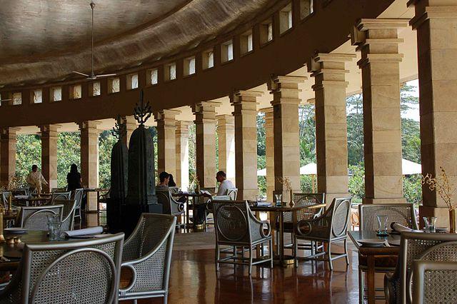 Hôtel de luxe en Indonésie.