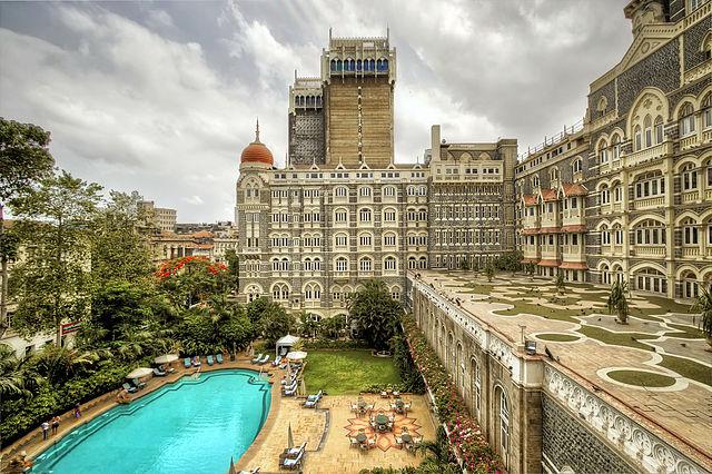 Hôtel de luxe lors d'un séjour en Inde.